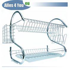 Edelstahl Geschirrständer Abtropfständer Abtropfgitter Abtropfgestell 8051/S | eBay