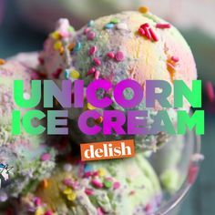 Unicorn Ice Cream is a scoopful of absolute *~Magic~* Making it is just as fun as eating it.