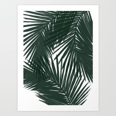 Buy Palms Green Art Print by Caitlin Workman. Worldwide shipping available at Society6.com. Just one of millions of high quality products available.