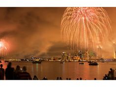 Everyone's first choice for 4th of July celebrations, here is a list of favorite stretches of sand and places to watch the fireworks in San Diego.