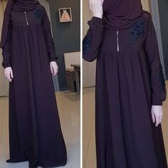 Image may contain: one or more people and people standing Hijab Style Dress, Hijab Chic, Abaya Fashion, Fashion Dresses, Party Wear Indian Dresses, Hijab Evening Dress, Mode Abaya, Modele Hijab, Muslim Women Fashion