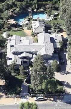 Angelina Jolie's New Hidden Hills Mansion!  :)