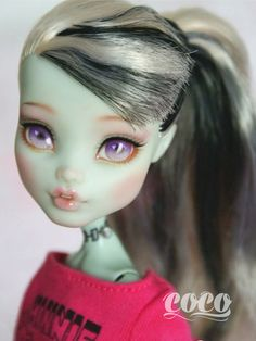 Monster high custom | por seasungirl