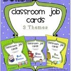 Job Cards for Classroom Job Chart BUNDLE:  54 Kids, Owl, and Bee Theme Included!