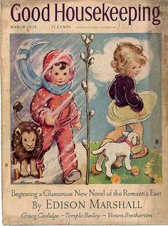 Good Housekeeping cover, March 1935... in like a lion, out like a lamb :)