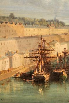 Le port de Brest Jules Noël