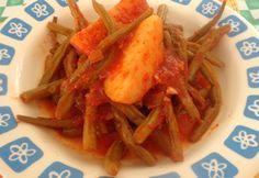 Fasolakia me Patates - Green Beans with Potato