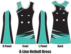 f05cd726752 A-Line Netball Dress Netball Dresses, Grey Yellow, Wetsuit, Sportswear,  Designer