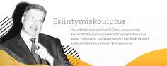 Ismo Jokinen, Finnish speaker and speaker trainer -Website