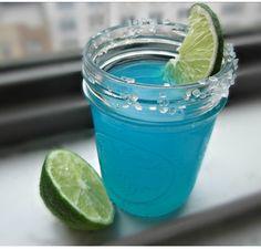Ben and Jacks Swimming Pool: Vodka, Coconut Rum, Pineapple Juice, Heavy Cream, Blue Curaçao Bar Drinks, Cocktail Drinks, Alcoholic Drinks, Blue Alcoholic Punch, Fancy Drinks, Cocktail Shaker, Cocktail Recipes, Malibu Coconut, Coconut Rum