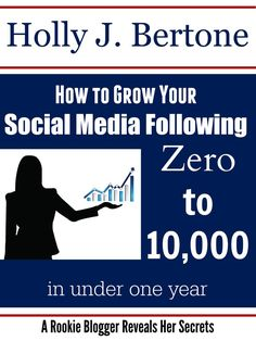 How to Grow Your Social Media Following book - Download your copy today!
