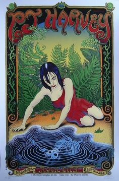 PJ Harvey Concert Poster by Emek (SOLD OUT)