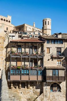 Valderrobres. Comarca del río Matarraña. Teruel. Aragón. Spain.