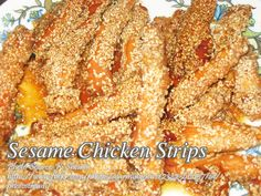 A delicious fried chicken strips good to serve as an appetizer or viand. #ChickenStrips #SesameChicken Fried Chicken Strips, Breaded Chicken, Marinated Chicken, Healthy Sesame Chicken, Chicken Paella, Paella Recipe, Sweet N Sour Chicken, Turkey Dishes, Boneless Chicken Breast