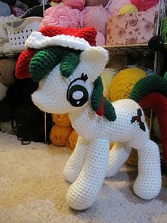 Holly Berry Pony ~ pafp *
