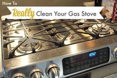 A clean gas stove is so nice to cook on and not very difficult to achieve if you know what steps to take! This will show you how!