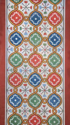 Mihail Alivizakis – icoana Byzantine Art, Byzantine Icons, Medieval Pattern, Art Icon, Orthodox Icons, Rug Hooking, Flourish, Mosaic Tiles, Blackwork