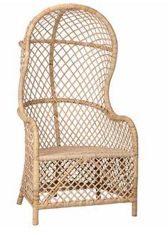 Rattan Loveseat, Armchair, Rattan Chairs, Blue Chairs, Room Chairs, Dining Chairs, Ikea Chairs, Dining Set, Dining Room
