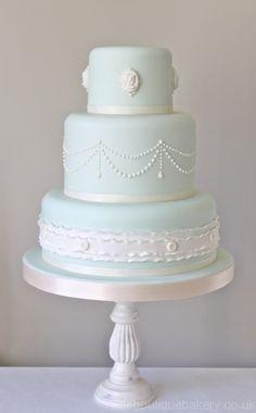 Cameo Wedding Cake by Little Boutique Bakery. www.littleboutiquebakery.co.uk