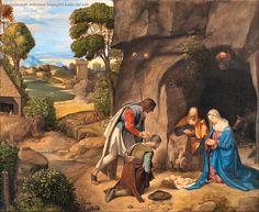 Giorgione – Adorazione dei Pastori (Natività Allendale)