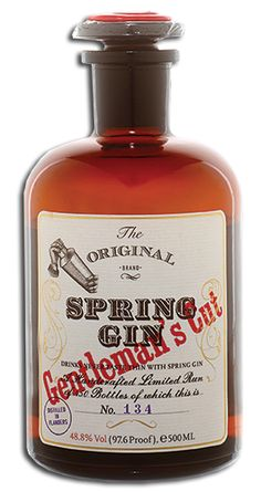 Spring Gin: Gentlemen's Cut PD