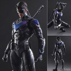 Square Enix Play Arts Kai - Batman Arkham Knight: Night Wing #SquareEnix