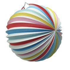 Multi Coloured Lantern