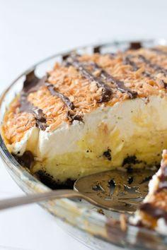 Samoa Coconut Cream Pie via Sift & Whisk