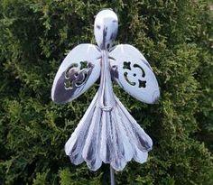 Angel Garden Silverware Art by marlene