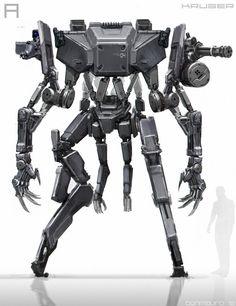 ArtStation - ELYSIUM - Robots, Tech, Vehicles, Ben Mauro
