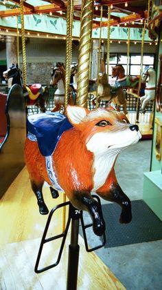 sly fox/ Bear Mt Carousel, NY