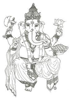Ganesh by ~Savage-Orange on deviantART