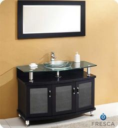 Fresca Contento 43 Modern Bathroom Vanity w/Tempered Glass Sink Review https://modernbathroomvanitiesreviews.info/fresca-contento-43-modern-bathroom-vanity-wtempered-glass-sink-review/