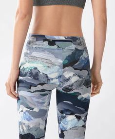 Hiking sports leggings - View All - Autumn Winter 2016 trends in women fashion at Oysho online. Lingerie, pyjamas, sportswear, shoes, accessories, body shapers, beachwear and swimsuits & bikinis.