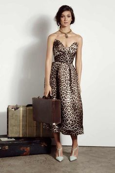 Zimmerman - love the shape of this dress & that print!