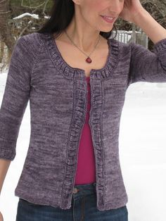 Ravelry: Making Waves Cardigan pattern by Mary Annarella Sweater Knitting Patterns, Cardigan Pattern, Crochet Cardigan, Knit Patterns, Knit Crochet, Knit Shawls, Knit Sweaters, Knitting Ideas, Knitting Projects