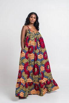 African Print Rosy Maxi Dress – Grass-fields Source by ellatawia African Fashion Ankara, Latest African Fashion Dresses, African Print Fashion, Africa Fashion, Tribal Fashion, Fashion Women, Fashion Outfits, Long African Dresses, African Print Dresses