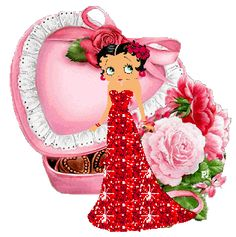 Betty boop Glitter Graphics, Glitter Images, Glitter Pictures
