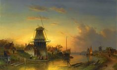 Charles Leickert | Romantic Dutch Landscape painter | Tutt'Art@ | Pittura * Scultura * Poesia * Musica |
