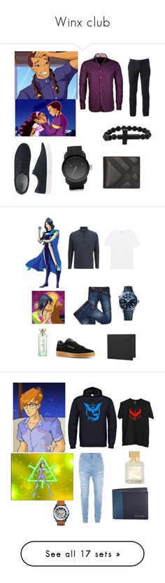 """Winx club"" by harrypotternexrgenlove ❤ liked on Polyvore featuring Stone Rose, Uniqlo, Diesel, Urban Pipeline, Burberry, Fox and Baubles, men's fashion, menswear, Bulgari and Jack Wolfskin"