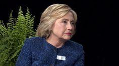Entre dos helechos la extraña entrevista a Hillary Clinton en la TV de los Estados Unidos - Infobae.com