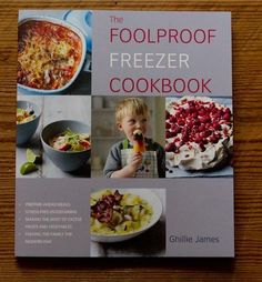 Need this at the Library - The Foolproof Freezer Cookbook By Ghillie James