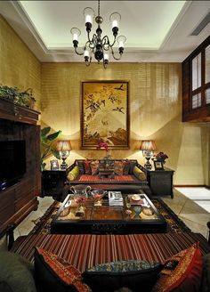 Oriental Chinese Interior Design Asian Inspired Living Room Home Decor Interactchina Servlet The Furnishings Categories