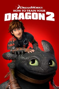 How to Train Your Dragon 2 Movie Poster - Jay Baruchel, Cate Blanchett, Gerard Butler  #MoviePoster, #DeanDeblois, #KidsFamily, #CateBlanchett, #GerardButler, #JayBaruchel