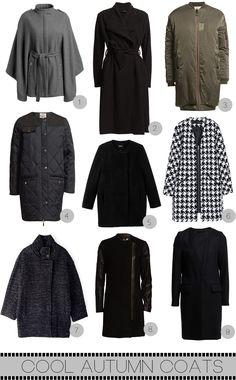 9 cool Autumn/Winter coats