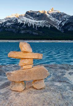 Abraham Lake, Alberta, Canada