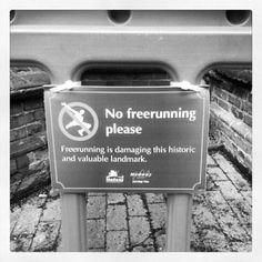 Sign of the times in Rochester. Never seen a notice like this anywhere before. (Taken with instagram)