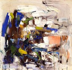 A member of the first generation of Abstract Expressionists, Joan Mitchell was known for painting big, light-filled abstractions, animated by loosely applied skeins of bright color, infused with the energy and excitement of a large metropolis.