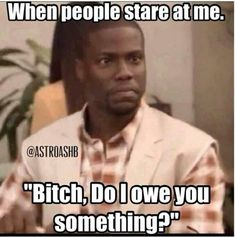 """Kevin Hart is funniest character in world of memes.Here's huge and great collection of some """"Top Funny Memes Kevin Hart"""" that are so funny like as Kevin. Just read out these """"Top Funny Memes Kevin Hart"""". New Funny Memes, Super Funny Memes, Funny Love, Funny Relatable Memes, Really Funny, Funny Texts, Funny Stuff, Fun Funny, Frases"""