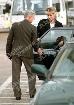 May 4, 1996: Princess Diana returning from her 8-hour trip to Costa Del Sol.